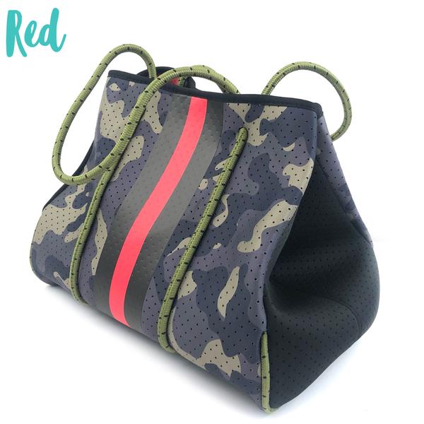 Summer Feelings Neoprene Tote Bag *Final Sale* - Red