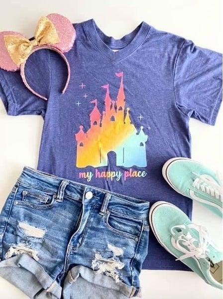 My Happy Place Castle T-Shirt