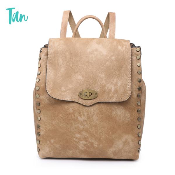 Bex Distressed Backpack *Final Sale* - Tan