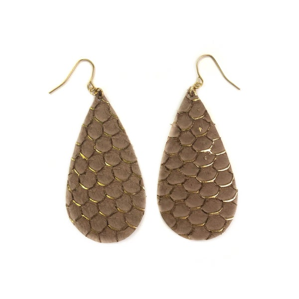 Mermaid Scale Earrings *Final Sale*