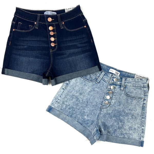 The Way Life Goes High Rise Denim Shorts-FINAL SALE