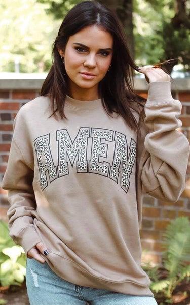 AMEN Cheetah Sweatshirt