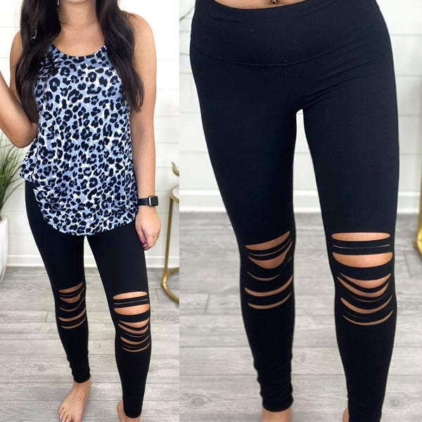 Distressed For Days Leggings