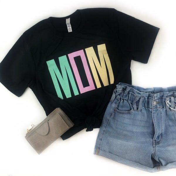 Mom Multi Color T-Shirt