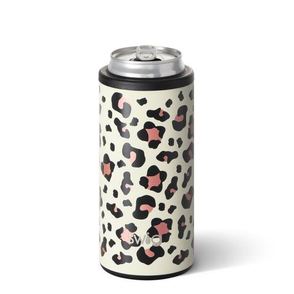 Luxy Leopard Swig Skinny Can Cooler *Final Sale*