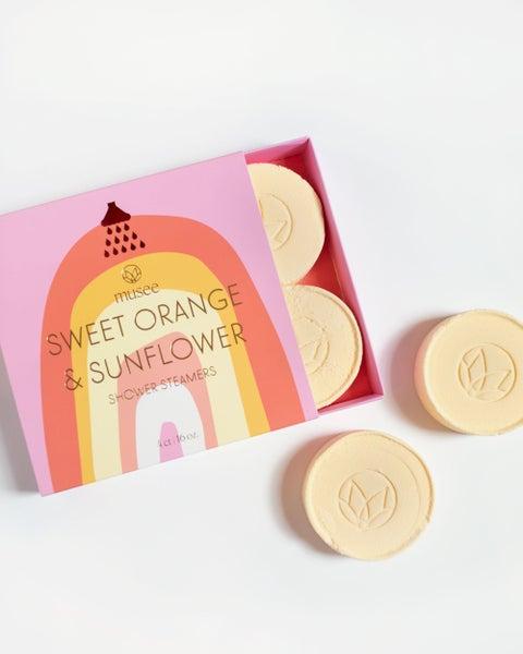 Sweet Orange & Sunflower Shower Steamers *Final Sale*