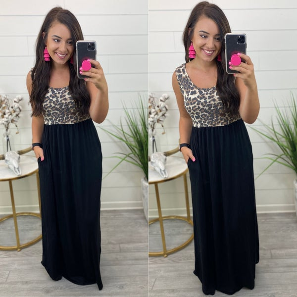 When Sparks Fly Maxi Dress