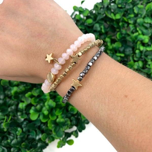 Wait For It Star Bracelet Cluster-FINAL SALE