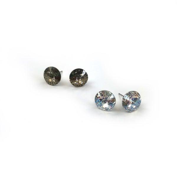Black Thursday 2020 - Diamond Studs *Final Sale*