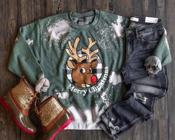 Rudolph Bleached Sweatshirt *Final Sale*