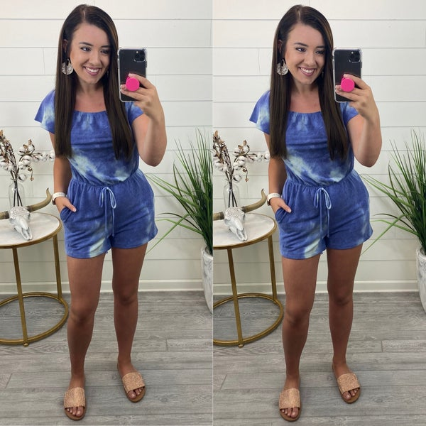 Going Out Late Romper