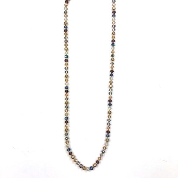 Black Thursday 2020 - Multi Bead Necklace *Final Sale*
