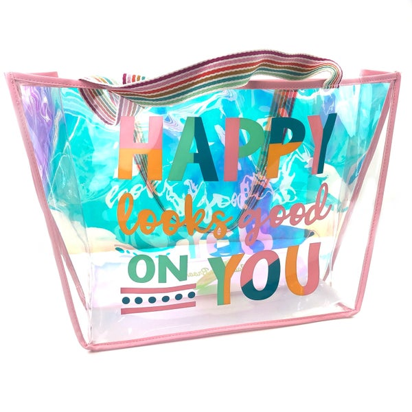 Happy Looks Good On You Tote Bag *Final Sale*