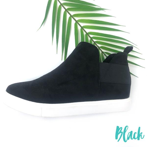 Let's get steppin Sneakers - Black