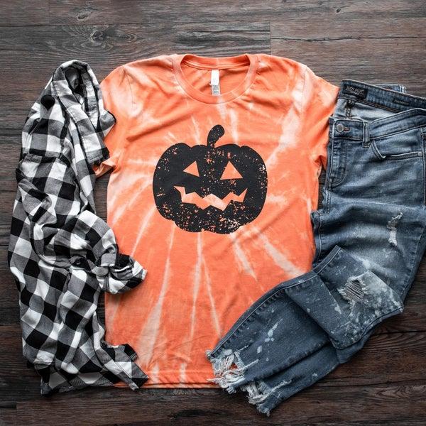 Tie-Dye Pumpkin T-Shirt *Final Sale*