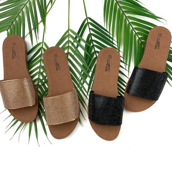Slide My Way Sandals - FINAL SALE