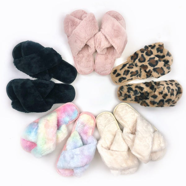 Get Fuzzy Slippers
