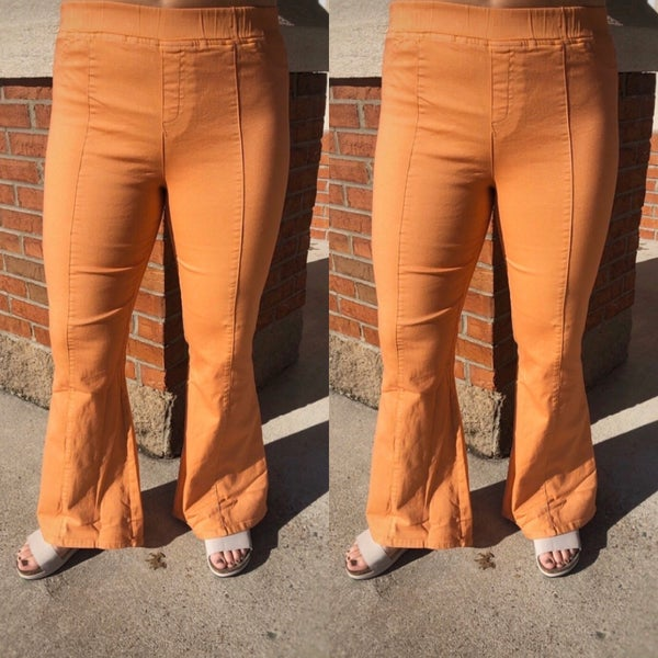 Normal Bell Bottom Stretch Pants