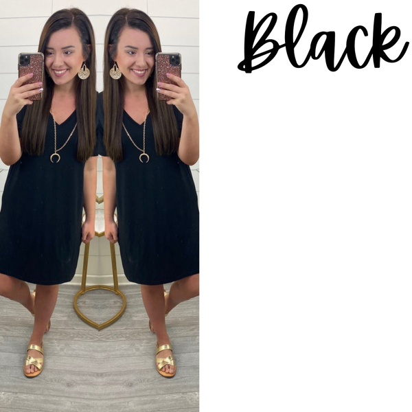 Relaxed Piko Dress