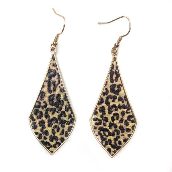 Cheetah Loving Earrings *Final Sale*