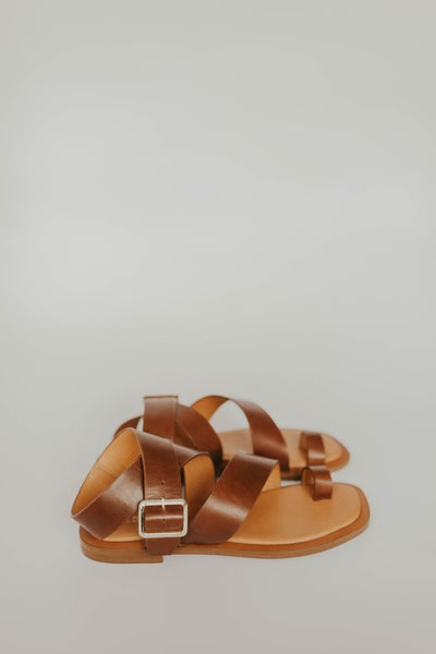 Cite See Leather Sandal