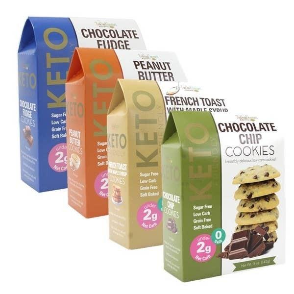 Keto Friendly Cookies in Multiple Flavors *Final Sale*