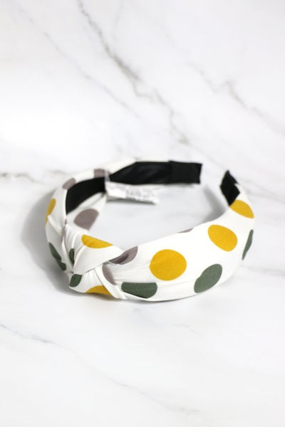On The Dot Polka Dot Headband