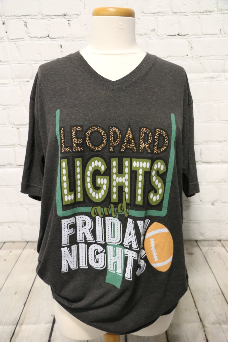 ***PRE-ORDER*** Leopard Lights And Friday Nights Graphic Tee