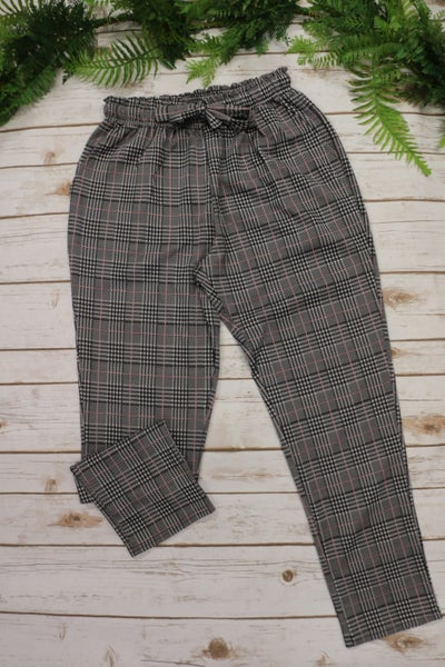 Kicking it Old School Houndstooth Pant