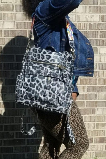 Not All Are Lost Leopard Travel Bag in Multiple Colors