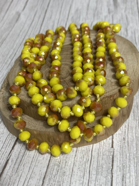 Popcorn Point Of Perfection Beaded Necklace