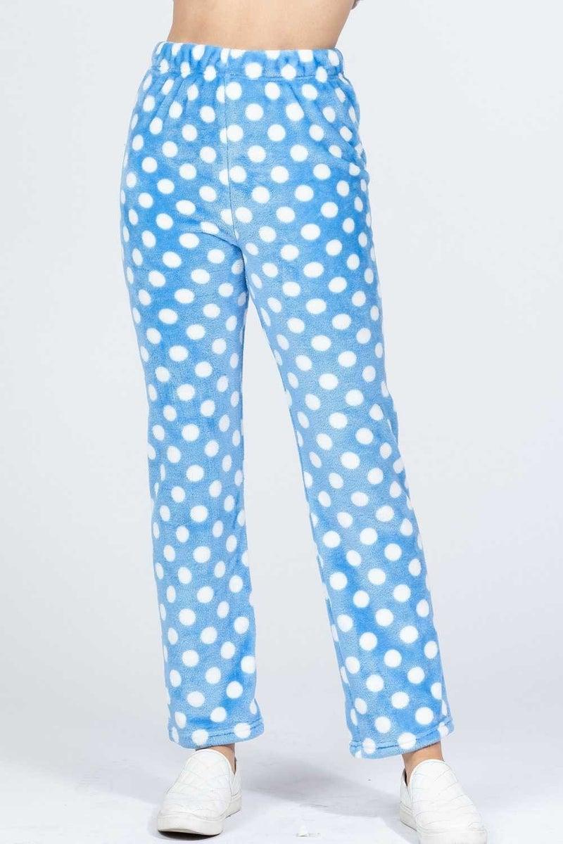 Fun Times Polka Dot Pajama Bottom in Multiple Colors - Sizes 4-18