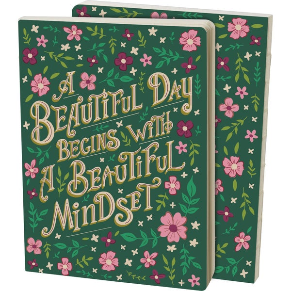 A Beautiful Day Begins with a Beautiful Mindset Journal
