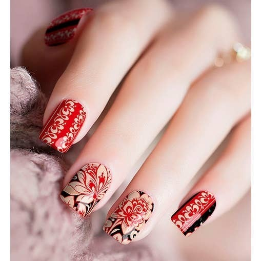 Nail Polish Stickers in Floral Prints *Final Sale*