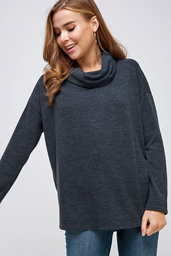 Fired Up Cowl Neck Dolman in Multiple Colors - Sizes 4-10