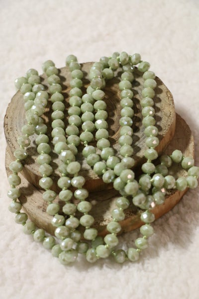 Matcha Point Of Perfection Beaded Necklace