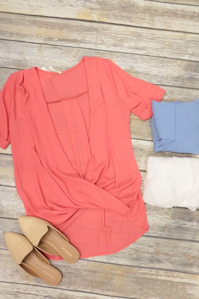 Don't Look Back Blouse In Multiple Colors
