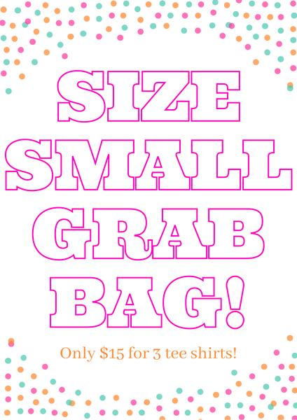 Size Small Tee Shirt Grab Bag
