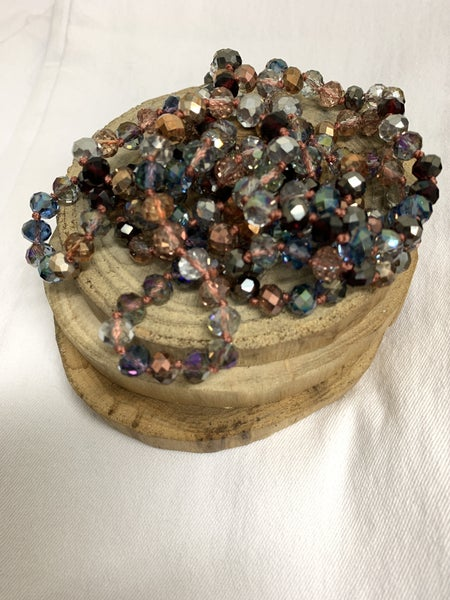Twilight Point Of Perfection Beaded Necklace