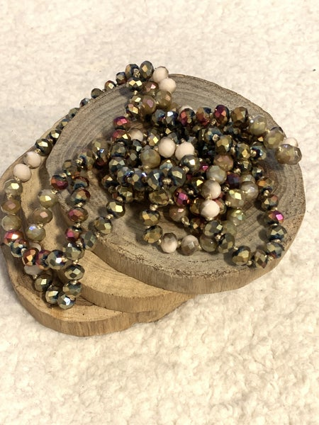 Autumn Forest Point Of Perfection Beaded Necklace