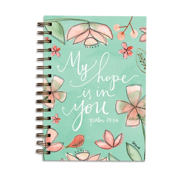 My Hope Is In You Psalm 119:114 Lined Journal
