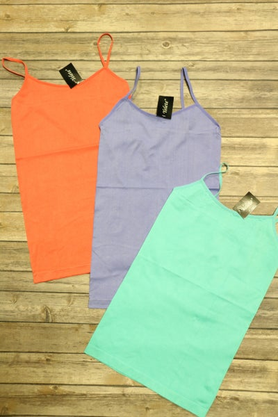 Walk This Way Cami In Multiple Colors- Sizes 4-20
