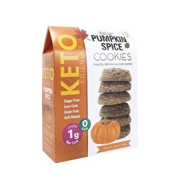 Fall Harvest Keto Pumpkin Spice Cookie