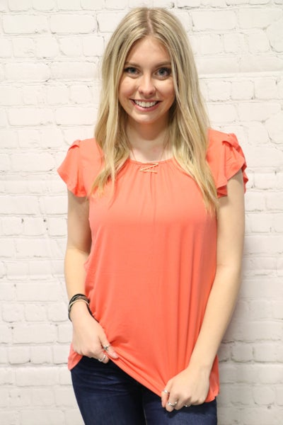 It's a New Day Tulip Sleeve Top in Multiple Colors-Sizes-4-20