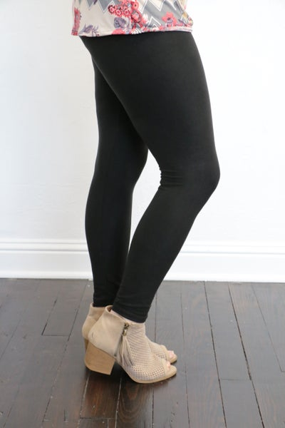 Full Length Fleece Leggings - Multiple Colors - Sizes 4-20