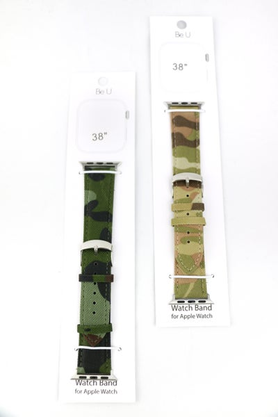 Hidden Identity Camo Apple Watch Band In Multiple Colors