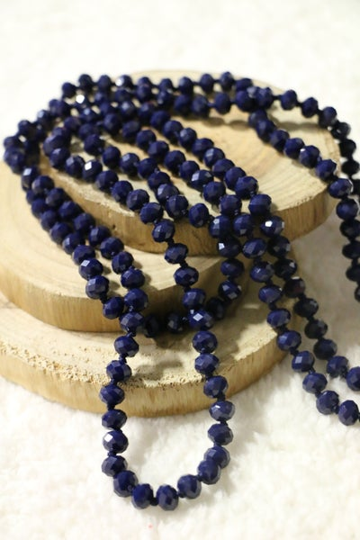 Deep Water Point Of Perfection Beaded Necklace