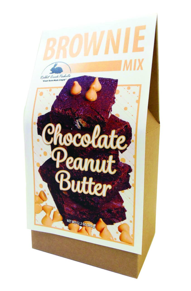 Chocolate Peanut Butter Brownie Mix *Final Sale*