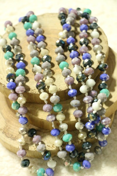 Low Tide Point Of Perfection Beaded Necklace