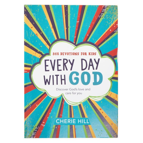 Every Day With God Devotion Book For Kids